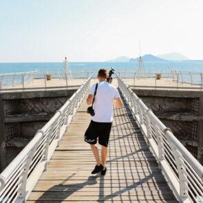 immagine al mare con soggetto del progetto PICTURE OF LIFE di Vitec Imaging Solutions