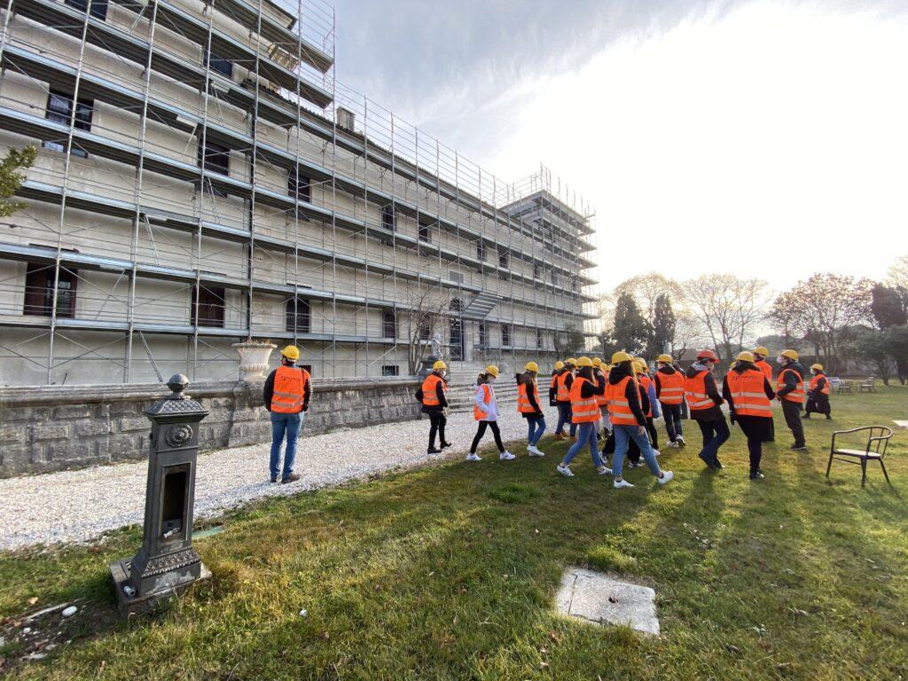 immagine di operai di Maroso Ivo Enzo al lavoro presso un cantiere